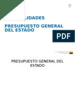 Presentación de la proforma presupuestaria 2015 en la Asamblea Nacional