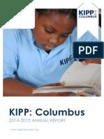 KIPP Columbus Annual Report 2014-2015
