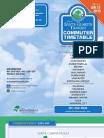Santa Clarita Commuter Express Timetable