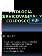 Citologia y colposcopia Patologia maligna de cervix