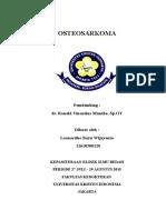 Osteosarcoma Leonardho Bayu