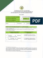 syllabus y plan de clases de construcciones civiles