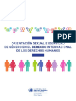 ACNUDH (2013). Orientación Sexual e Identidad de Género en El Derecho Internacional de Los Derechos Humanos