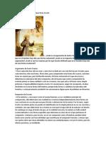 Entre Tomás de Aquino y Juan Duns Escoto