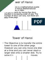 Tower of Hanoi (1)