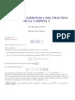 Solución a un Problema Oposición Matemáticas