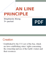Median Line Principle