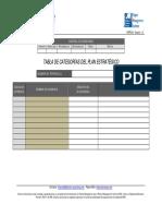 FGPF_040 – Tabla de Categorías Del Plan Estratégico