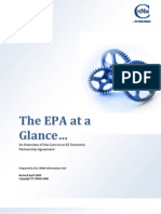 The Cariforum-EC Economic Partnership Agreement (EPA) at a Glance