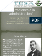 Equipo 4_ Max Weber
