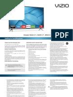 vizio m50-c1 tv manual