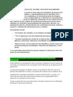 Fundamentos Sociales Del Sistema Educativo Bolivariano