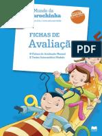 Fichas de avaliação de Matematica do Alfa - 2º ano