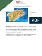 Mercado de Trabalho Da Ilha de Santo Antão de Cabo Verde