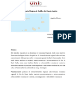 A Economia Regional Da Ilha de Santo Antão