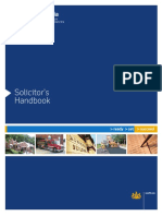 PA solicitors handbook-2003