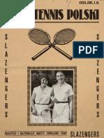 1930 Lawn Tennis Polski Nr 1 (PL)