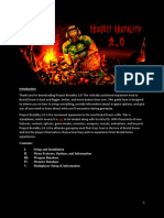 Project Brutality 2.0 User Manual