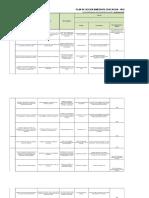 Plan de Acción SECRETARIA DE EDUCACIÓN, CULTURA y RECREACIÓN 2016