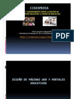 DISEÑO  WEB EDUCATIVA