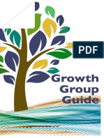 Growth Group Guide Spring 2016