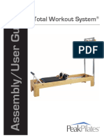 Assembly Instructions Total Workout System