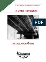 Bridge Deck Formwork