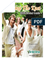 Bridal Guide 2016 Edition