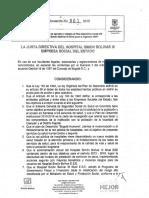 Acuerdo 001 Aprobacion POA
