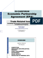 Cariforum-EC EPA Negotiations - Trade Related Issues (Malcolm Spence)