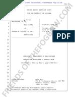 Melendres # 1021   Apr 22 2015 FULL Transcript