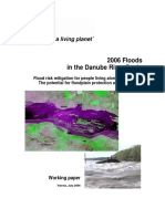 2006 Floods in the Danube River Basin Wwf Working Paper