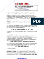 Declaring Someone an Innovator - Shaykh Rabee Ibn Haadee Umair Al Madkhalee
