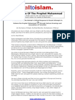 In Defence of the Prophet Muhammad - Shaykh Rabee Al-Madkhalee