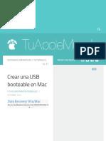 Crear Una USB Booteable en Mac - TuAppleMundo