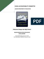 DL Modification CSAC Initial Report