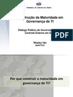 Maturidades Em Governança de TI - Wesley Vaz