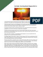 A Long-Term Survival Guide - Surviving Atomic Weapons (Part 1)