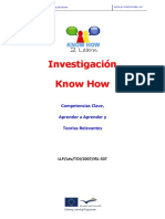 - Know How Research Learning to Learn_ESPAÑOL