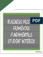 BusinessProcessFrameworkFundamentalsOn-lineStudentNotebook