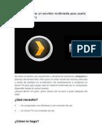 Cómo configurar un servidor multimedia para usarlo con tu Smart TV.docx