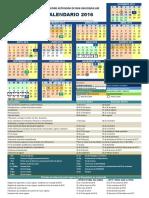UABCS Calendario 2016