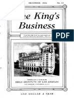 The King's Business - Volume 7, Issue 12 - December 1916