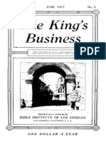 The King's Business - Volume 8, Issue 6 - June 1917
