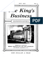 The King's Business - Volume 8, Issue 5 - May 1917