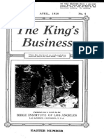 The King's Business - Volume 9, Issue 4 - April 1918