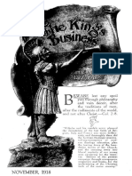 The King's Business - Volume 9, Issue 11 - November 1918