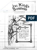 The King's Business - Volume 10, Issue 4 - April 1919