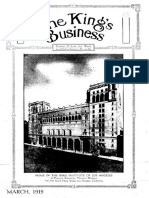 The King's Business - Volume 10, Issue 3 - March 1919