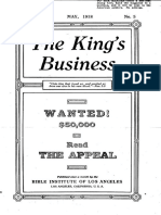 The King's Business - Volume 9, Issue 5 - May 1918